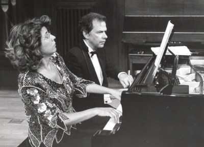 Carmen Deleito y Josep Colom. Concierto Bajo la estrella de Diaghilev