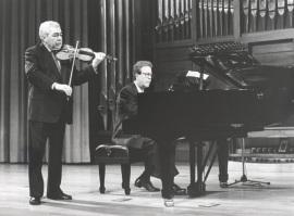 Víctor Martín y Agustín Serrano. Concierto Brahms, música de cámara , 1997