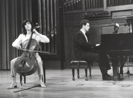 Francisca Oliver y Ángel Huidobro. Recital de violonchelo y piano , 1997