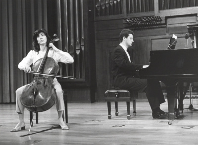 Francisca Oliver y Ángel Huidobro. Recital de violonchelo y piano
