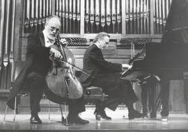 Pedro Corostola y Manuel Carra. Concierto Brahms, música de cámara , 1997