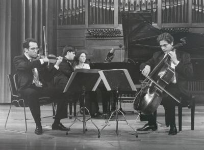 Luis de Pablo y Trío Arbós. Concierto Piano-tríos españoles siglo XX