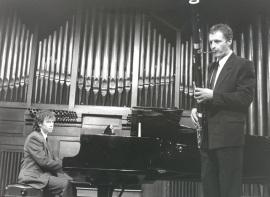 Jorge Otero y Dominique Deguines. Concierto Alrededor del fagot , 1998