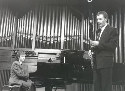 Jorge Otero y Dominique Deguines. Concierto Alrededor del fagot