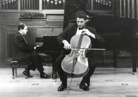 David Apellániz y Ángel Chavaldas. Recital de violonchelo y piano , 1998