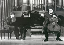 Juan Carlos Garvayo y Damián Martínez. Recitales para Jóvenes, 1998