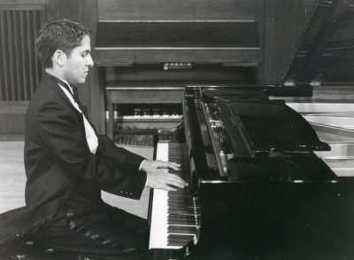 Washington Arturo García Eljuri y Blasco Peñaherrera Padilla. Recital de piano