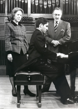 Washington Arturo García Eljuri y Blasco Peñaherrera Padilla. Recital de piano , 1998