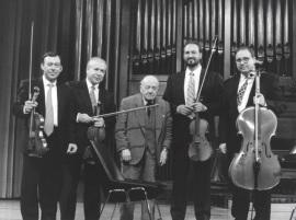 Ángel Martín Pompey y Cuarteto Arcana. Concierto Homenaje a Ángel Martín Pompey - Aula de (Re)estrenos (35) , 1998