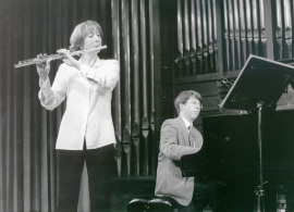 Maarika Jarvi y Graham Jackson. Recitales para Jóvenes, 1998