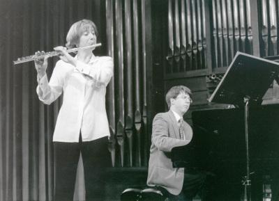 Maarika Jarvi y Graham Jackson. Recitales para Jóvenes