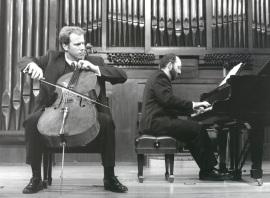 Ángel García Jerman y Kennedy Moretti. Recital de violonchelo y piano , 1998