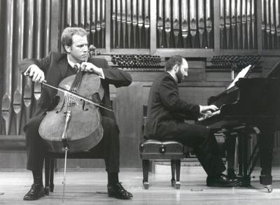 Ángel García Jerman y Kennedy Moretti. Recital de violonchelo y piano