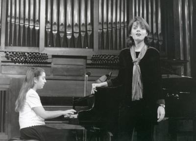 Miriam Gómez-Morán y Raquel García Fernández. Recital de canto y piano
