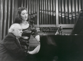 Mª José Montiel y Miguel Zanetti. Concierto Músicos del 27 , 1998