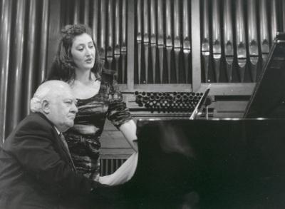 Mª José Montiel y Miguel Zanetti. Concierto Músicos del 27