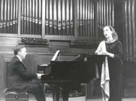 Cecilia Lavilla Berganza y Juan Antonio Álvarez Parejo. Recital de canto y piano , 1999