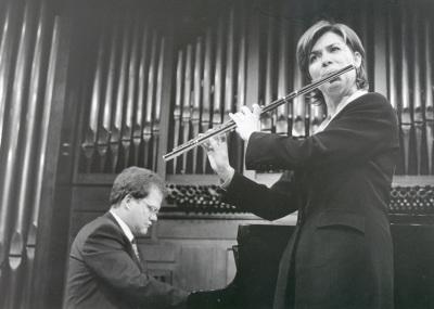 Juana Guillem y Aníbal Bañados. Recital de canto y piano