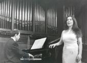 Manuela Soto y Xavier Pares. Recital de canto y piano , 1999