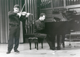 Víctor Correa-Cruz-Cruz y José Gallego. Concierto Sonatas para violín y piano, 1999