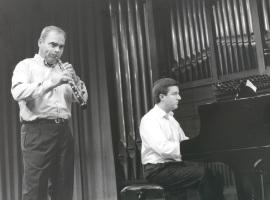 Rafael Tamarit y Gerardo López Laguna. Recitales para Jóvenes, 1999