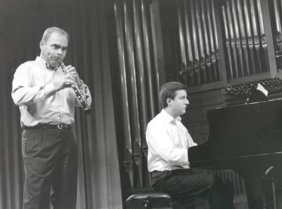 Rafael Tamarit y Gerardo López Laguna. Recitales para Jóvenes