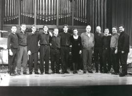 Neopercusión Centro, Ana Javanovic y Tomás Marco. Concierto Piano y percusión siglo XX , 1999