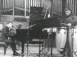 Juan Francisco Díaz Martín y Duncan Gifford. Concierto Piano y percusión siglo XX , 1999