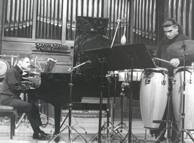 Juan Francisco Díaz Martín y Duncan Gifford. Concierto Piano y percusión siglo XX