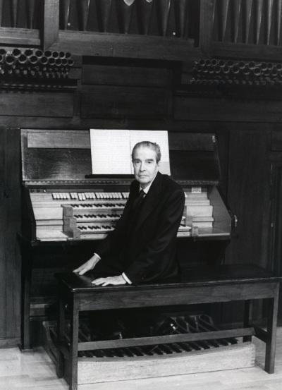 Ramón González de Amezúa. Concierto El órgano del siglo XX