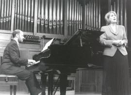Rosa Segovia y Sebastián Mariné. Recital de canto y piano , 1999