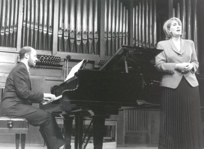 Rosa Segovia y Sebastián Mariné. Recital de canto y piano