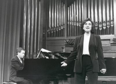 María Aragón y Fernando Turina. Concierto La voz en el siglo XX