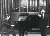 Xavier Pares y Iñaki Fresán. Concierto La voz en el siglo XX , 2000