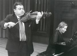 Manuel Guillén y Mª Jesús García. Concierto Nacionalismo musical del siglo XX , 2000