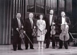 Zulema Cruz y Cuarteto Arcana. Concierto Tres nuevos quintetos , 2000