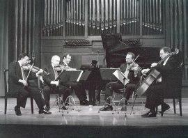 Álvaro Guijarro y Cuarteto Arcana. Concierto Tres nuevos quintetos , 2000