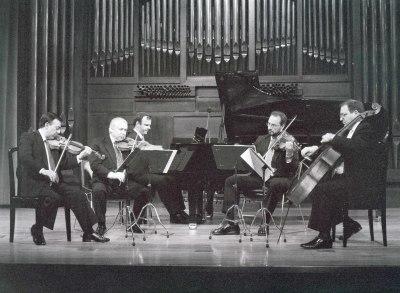Álvaro Guijarro y Cuarteto Arcana. Concierto Tres nuevos quintetos