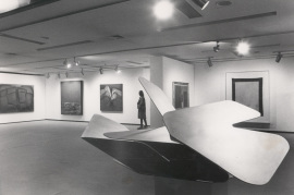 Vista parcial de la exposición Arte español contemporáneo Colección de la Fundación Juan March, 1985