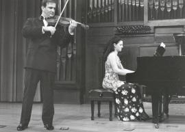 Sara Marianovich y Ino Mirkovich. Recital de violín y piano , 2000