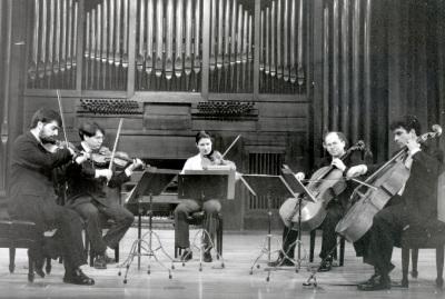 Adan Hunter y Cuarteto Rabel. Concierto Tres nuevos quintetos