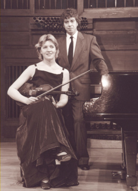 Julia Malkova y Jorge Otero. Concierto La viola del siglo XX , 2000