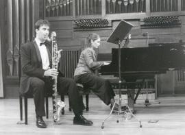 Pedro Rubio y Ana Benavides. Recital de clarinete y piano , 2000
