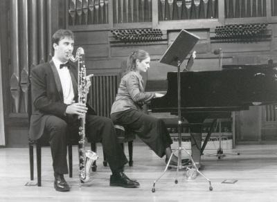Pedro Rubio y Ana Benavides. Recital de clarinete y piano