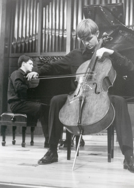 Juan Carlos Garvayo y Piotr Karasiuk. Recitales para Jóvenes, 2000