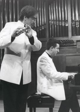Antonio Arias Gago Gago y Gerardo López Laguna. Concierto Flauta romántica española , 2001