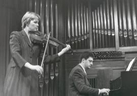 Julia Malkova y Ángel Huidobro. Recitales para Jóvenes, 2001