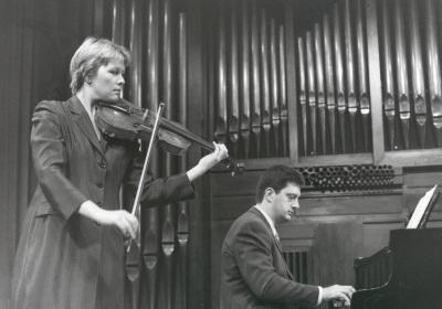 Julia Malkova y Ángel Huidobro. Recitales para Jóvenes