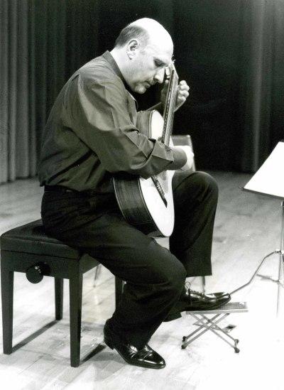 Eugenio Tobalina. Recital de guitarra - Dos centenarios: Rafael Rodríguez Albert y Antonio José Martínez Palacios