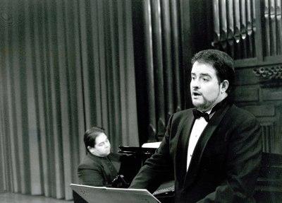 Luis Cansino y Alberto Joya. Recital de canto y piano